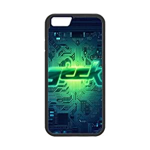 iPhone 6 4.7 Inch Cell Phone Case Black Geek circuit Mwkub