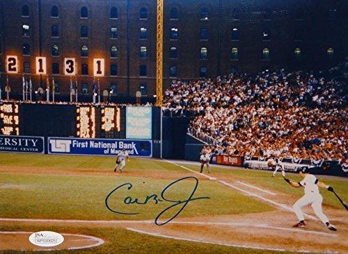 Cal Ripken Jr Autographed Baltimore Orioles 8x10 Scoreboard Photo- JSA W Auth - Scoreboard Photo
