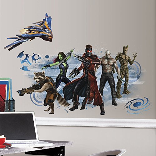 - RoomMates Guardians of the Galaxy Wall Graphic Peel and Stick Wall Decals