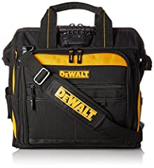 The tool bag has 3 Levels of light output allow adjustment for wide area illumination or close-up work with a light output of 39 Lumens max. There are 28 Multi-use pockets inside and 13 outside to help you better organize your tools and the v...