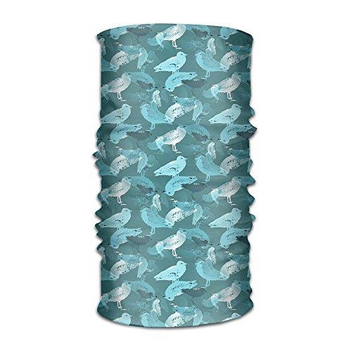 - Hong Yi Fang Seagulls Unisex Bandanas Balaclava Cap Turban Headscarf Sweatband Headwear Headscarf