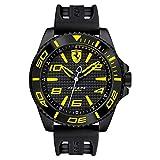 Scuderia Ferrari 830307 Men's XX KERS Black Yellow Quartz Sport Watch