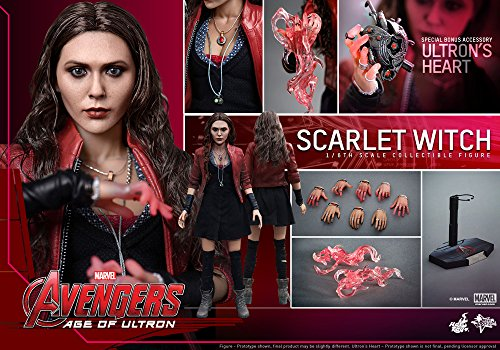 51O6UpCcFnL Hot Toys Marvel Avengers Age of Ultron Scarlet Witch 1/6 Scale Figure