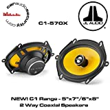 JL Audio C1-570x 5' x 7'/6' x 8' 120W RMS 2-Way C1 Series Coaxial Speakers