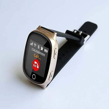 LQHLP Reloj Inteligente Reloj Antiguo GPS + WiFi Posición Anti-perdida Reloj Sos Monitoreo del