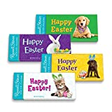 Russell Stover Happy Easter Pals Solid Milk Chocolate Tablet Bar, 2 oz. Bar