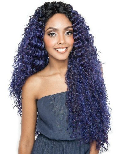 Isis Brown Sugar 100% Human/Syn Swiss Lace Wig BS 291 (OS1B/Sapphire)