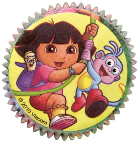(Wilton Dora the Explorer Standard Baking Cups, Pack of 50 )