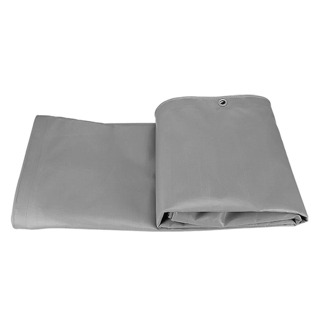 HJBH高品質リニアファイバー素材サンシェードクロス厚い防水クロスサンターポリンレインターポリン環境保護防水(グレー) オプション (サイズ さいず : 4m*6m) 4m*6m  B07PS7KJWW
