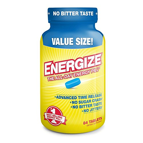 Pills Energy (ENERGIZE America's #1 Selling All-Day Energy Pill - 84 Time Released Tablets)