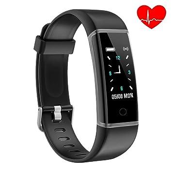 YoYoFit Pure Pulsera de Actividad, Podómetro Reloj de Fitness Pulsera Inteligente para Niños, Oscuro: Amazon.es: Deportes y aire libre