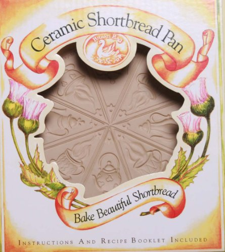 Brown Bag Design Tea Time Shortbread Cookie Pan, 11-3/4-Inch by ()
