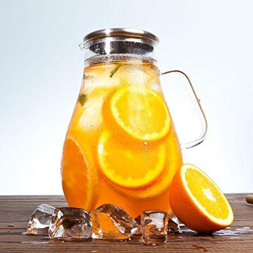64 ounce glass pitcher - 6