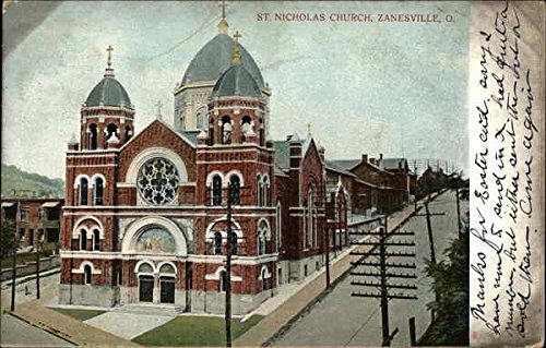 Amazoncom St Nicholas Church Zanesville Ohio Original Vintage