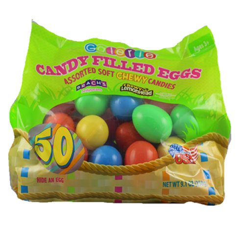 Easter Egg Candy Filled With Brachs and Assorted Candies 50