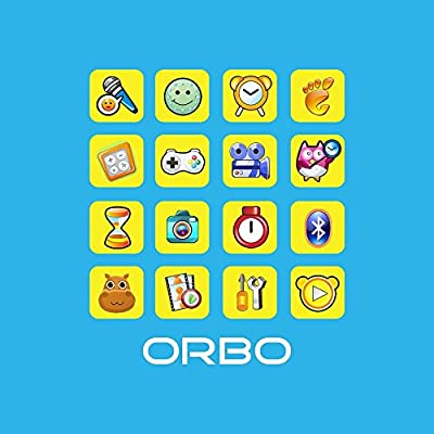Orbo Kids Smartwatch with Rotating Camera, Bluetooth, Phone Calls, Games, Timer, Alarm Clock, Pedometer & Much More