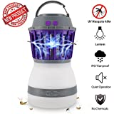 Bug Zapper Lamp-Mosquito Zapper Lamp-2-In-1 Zapper Lantern Charge Via USB-Lightweight Camping Gear & Accessories For The Outdoors & Emergencies-IP67 Waterproof-Compact-For Outdoor Camping & Home Use