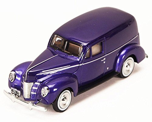 1940 Ford Sedan Delivery, Purple - Motormax 73250P - 1/24 Scale Diecast Model Car by Motor Max
