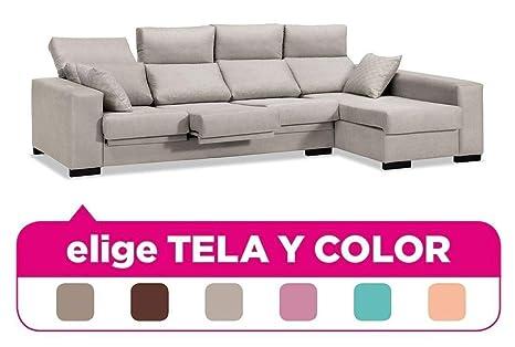 Muebles Baratos Sofa Chaise Longue 4 plazas, Tapizado a tu ...
