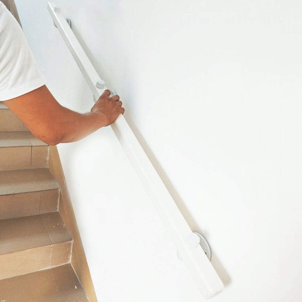 Pine Anti-Slip Stair Handrail CMMC 1ft-20ft Size : 1ft Home Against The Wall Indoor Loft Elderly Railings Handrails Corridor Support Rod Handrail -Complete Kit