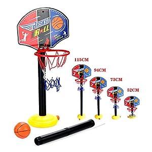 OurKosmos® réglable Enfants Enfants Junior Basketball Hoop and Ball Stand Pump Backboard Set Indoor et Outdoor Fun… 5