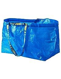 IKEA 172.283.40Frakta bolsa de la compra, grande, azul, juego de 10