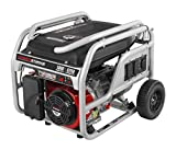 5000 Watt Portable Generator - Powerstroke PS905000B, 5000 Running Watts/6250 Starting Watts, Gas Powered Portable Generator