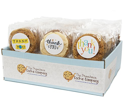 The Providence Cookie Company THANK YOU GOURMET COOKIE GIFT choose 1, 2, 3 or 4 Dozen (1 Dozen) ()