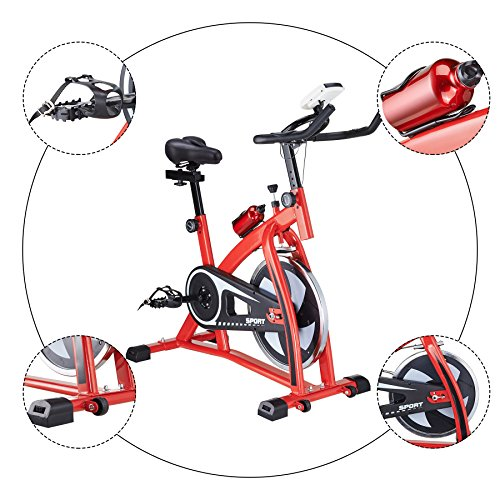 Pinty Pro Stationary Upright Exercise Bike Indoor Cycling