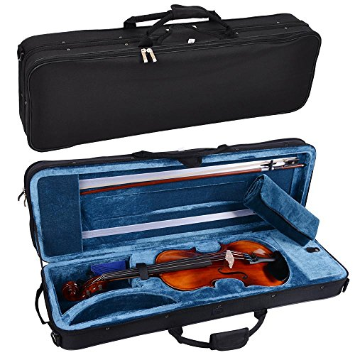 Vif Full Size 4/4 Handmade Stradivari 1721 Copy German Style Violin Fiddle Case Bow Music Hobby