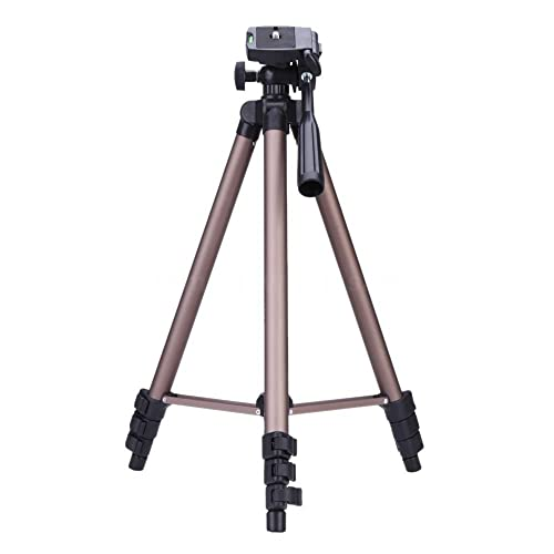 BV & Jo Multi-Functional Protable Lightweight Aluminum Camera Tripod for Nikon D3400,D3300,D3200,D3100,D5500,D5300,D5200,D5600, D7200,D7100,D7500, D810,D700,D610,D90,D80,D60,D50,D40,D40x.