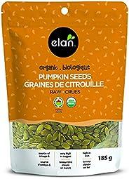 ELAN Organic Pumpkin Seeds, Non-GMO, Vegan, Gluten-Free, Kosher, 185g