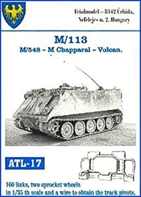Friulmodel ATL17 1/35 Metal Track with Drive Sprockets for M-113APC & M-548  Chaparral-Vulcan