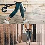 HAOYF-Monopattino-Elettrico-Pieghevole-per-Adulti-Motore-da-300-W-Display-LCD-3-modalit-di-velocit-Batteria-A-Lungo-Raggio-da-30-KM-Scooter-Elettrico-Portatile-per-Adulti-E-Adolescenti