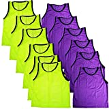 BlueDot Trading Soccer Sports Pinnies/Vests- Youth and Adult