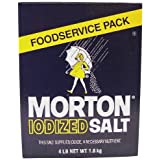 Morton Iodized Table Salt - 4lb. Box (2 Pack)