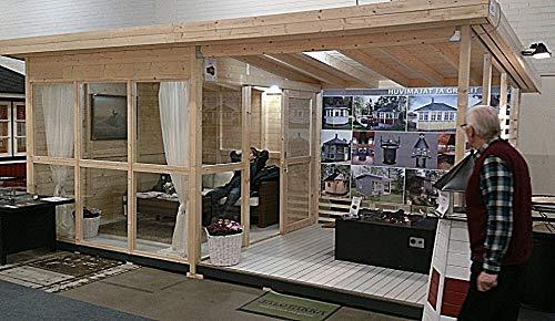 Allwood Solvalla | Studio Garden House Cabin Kit