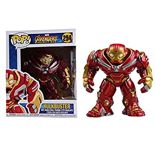 "Funko Pop! Marvel: Avengers Infinity War 6"" Hulk buster Figure, Multicolor"