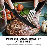 Steak Knives Set of 8 - Steak Knife Set - Serrated