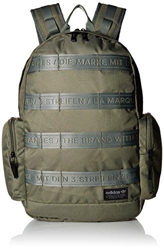 adidas Originals Create III Backpack, Med Green, One (Best Adidas Cool Backpacks)