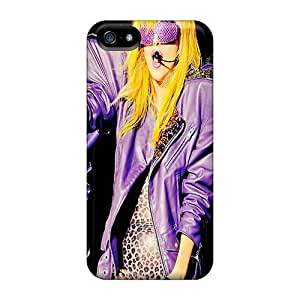 Defender Case With Nice Appearance (lady Gaga Yellow) For Iphone 5/5s