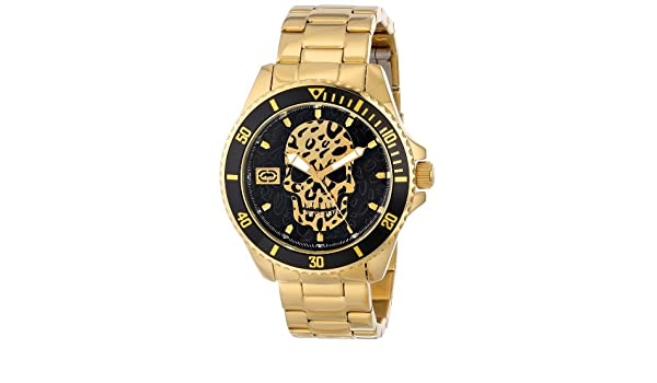Amazon.com: Marc Ecko Mens E13536G1 The Facetime Three Hand Watch: Watches