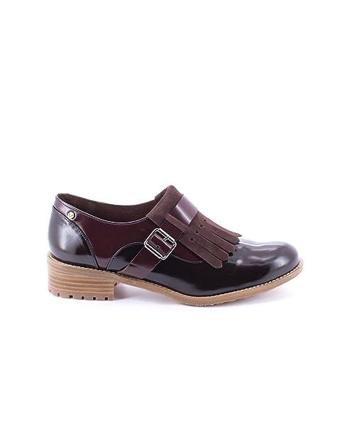 Martinelli, SHUJI 1011-A083C, Blucher marron-burdeos de Mujer, talla 41: Amazon.es: Zapatos y complementos