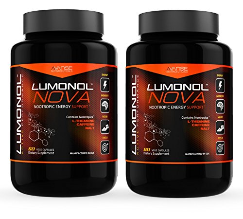 Lumonol Nova | Peak Performance | Energy | Focus | Now Available to anyone...| 120 Veg Caps - 2 Month Supply