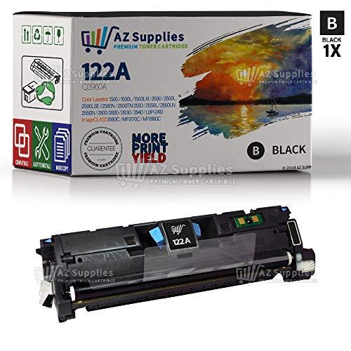 AZ Supplies Compatible Toner Cartridge Replacement for HP 122A (Q3960A) - 1 Black