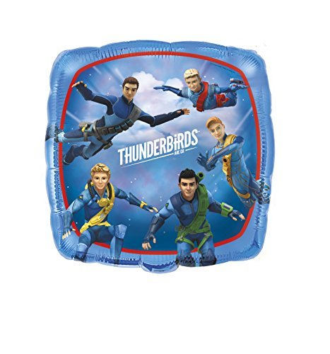 18 Foil Thunderbirds Balloon by Unique Party