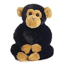 "Clyde Chimp 8"" Mini Flopsie Stuffed Animal"