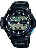 CASIO SGW-450H-1 - Reloj con movimiento cuarzo, para hombre, color plateado y negro