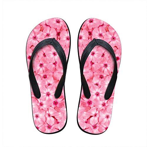 Para U Designs Sweet Petals Print Mujeres Girls Verano Playa Flip Flops Pool Zapatos Us 9