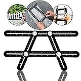AMENVTOOL Universal Angularizer Ruler - Full Metal Multi Angle Measuring Tool-Upgraded Aluminum Alloy Multi...